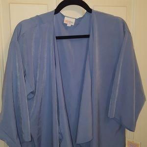 Nwt Lularoe Shirley size medium cornflower blue